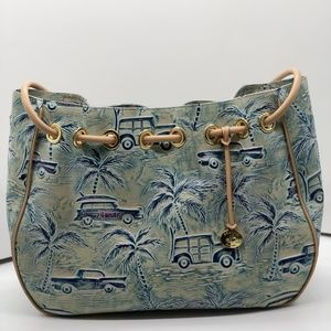 Brahmin Amy Sky Copa Cabana Bag and Wallet